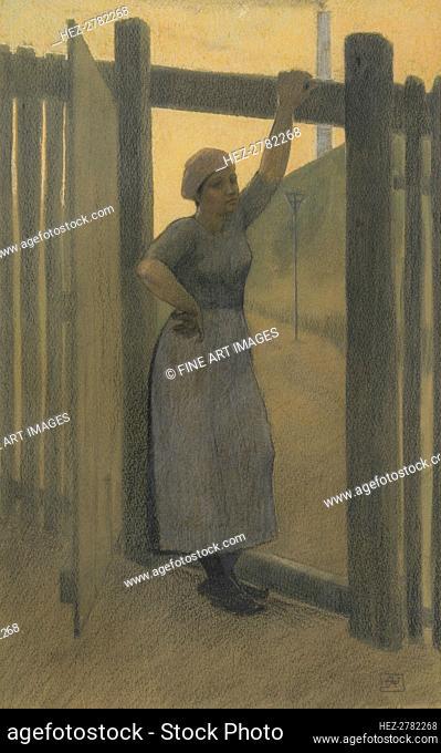 Hiercheuse. Creator: Rassenfosse, Armand (1862-1934)