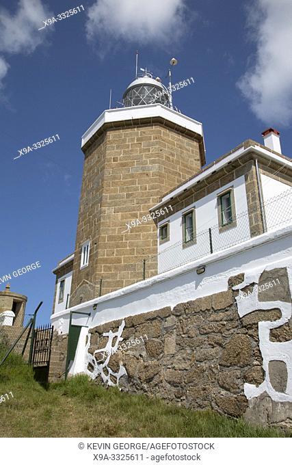 Lighthouse at Finisterre; Costa de la Muerte; Galicia; Spain