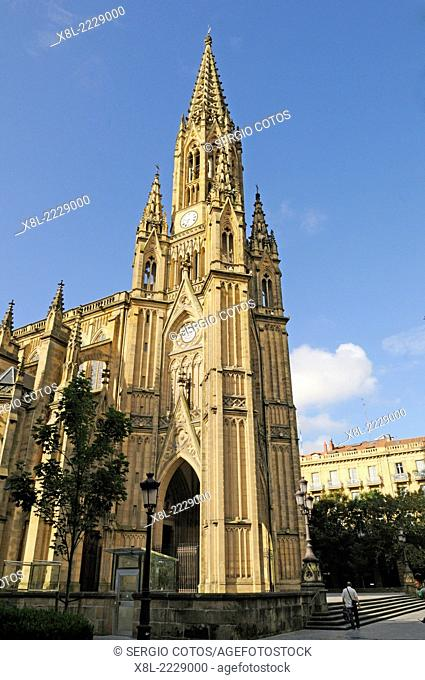 Cathedral of the Good Shepherd, Donostia, Basque Country, Spain, Guipuzcoa