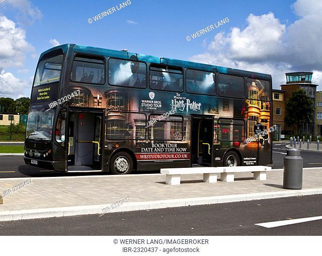 Harry Potter shuttle bus, London, England, United Kingdom, Europe