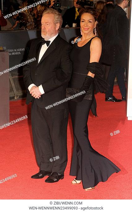 EE British Academy Film Awards 2016 (BAFTAs) held at Royal Opera House - Arrivals Featuring: Ridley Scott Where: London, United Kingdom When: 14 Feb 2016...