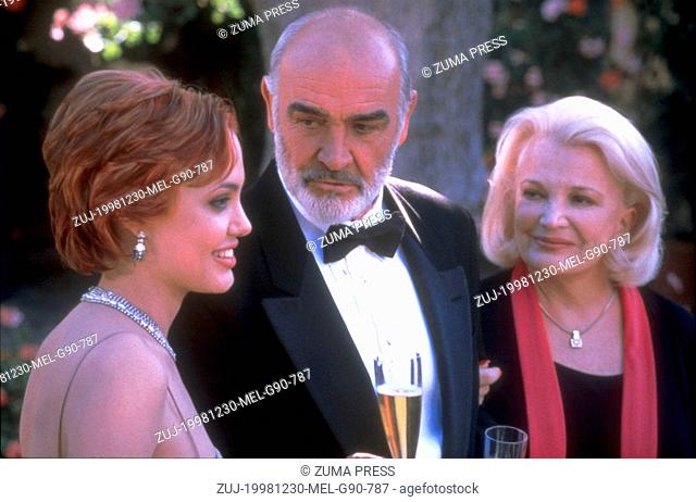 Dec 30, 1998; Los Angeles, CA, USA; ANGELINA JOLIE, SEAN CONNERY and GENA ROWLANDS star as Joan, Paul and Hannah in the romantic drama 'Playing By Heart'...