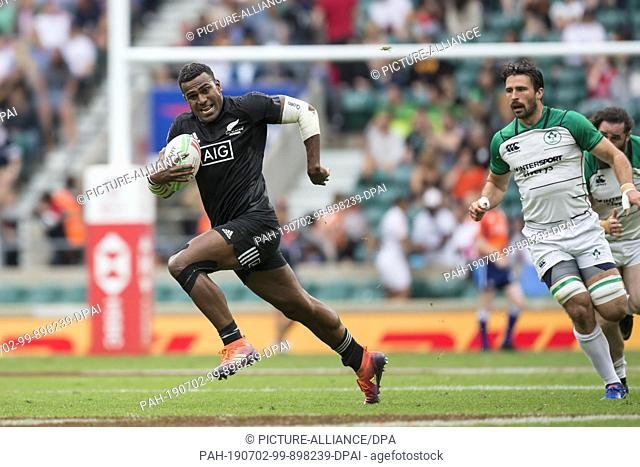 26 May 2019, Great Britain, London: The penultimate tournament of the HSBC World Rugby Sevens Series on 25 and 26 May 2019 in London (GB)