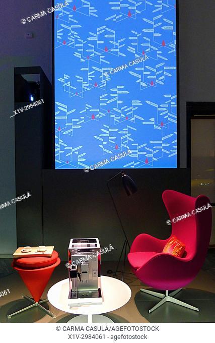 Italian Desing. Triennale, La Permanente, Milan, Italy. Very close to Sempione Parc and Castello Sforzesco