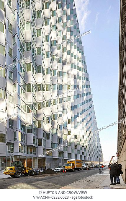 VI? 57 West, designed by BIG-Bjarke Ingels Group for the Durst Organization, introduces a new typology to New York City: the Cou