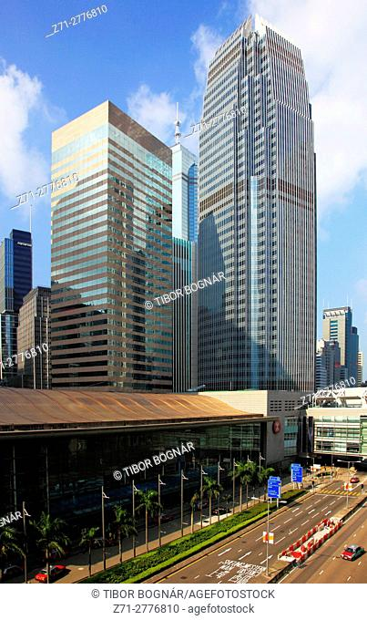 China, Hong Kong, Central district, One International Finance Centre,