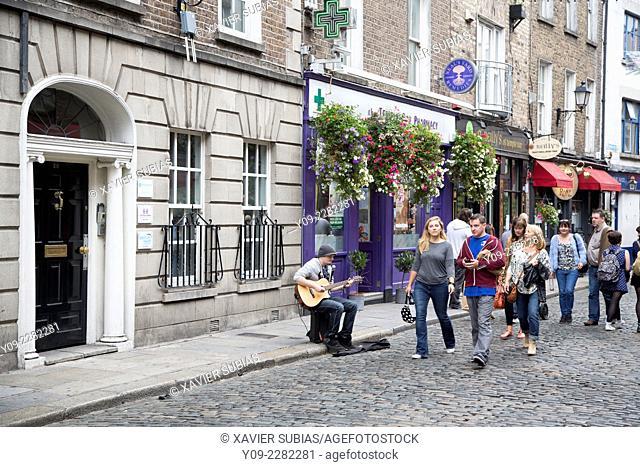 Street, Temple Bar, Dublin, Leinster, Ireland