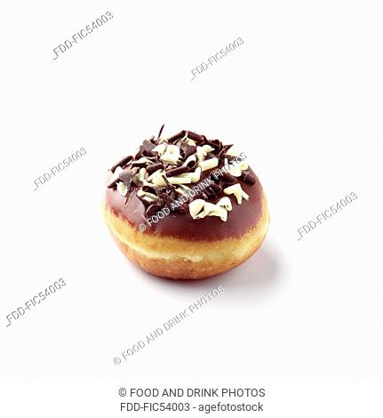 Doughnut with Chocolate flakes