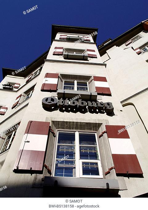 Ottoburg restaurant in the old town of Innsbruck, Austria, Tyrol, Innsbruck