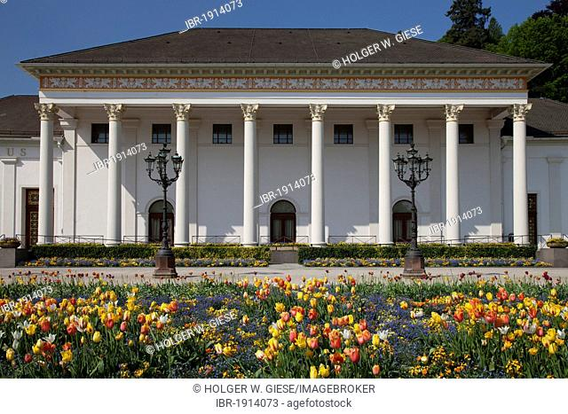 Casino, Kurhaus spa resort, Kurpark spa gardens, Baden-Baden, Black Forest mountain range, Baden-Wuerttemberg, Germany, Europe