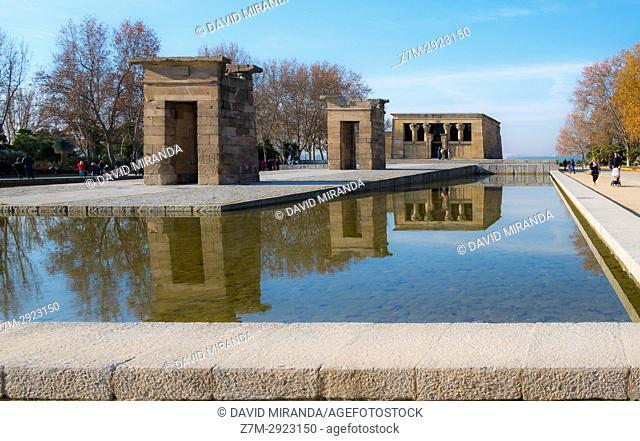 Templo de Debod. Madrid, Spain