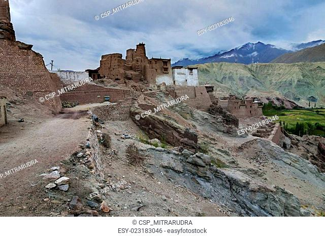 Basgo Monastery in Basgo, Ladakh, India