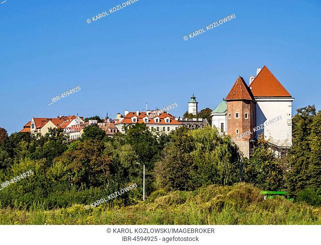 Sandomierz Skyline, Swietokrzyskie Voivodeship, Poland
