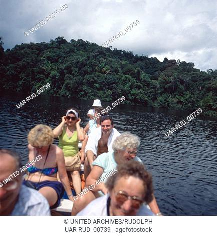 Eine Reise nach Manaus, Amazonas, Brasilien 1980er Jahre. A trip to Manaus, Amazon, Brazil 1980s