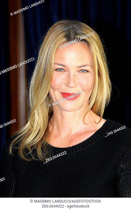 Connie Nielsen; nielsen; actress; celebrities; 2016; rome; italy; event; photocall ; le confessioni