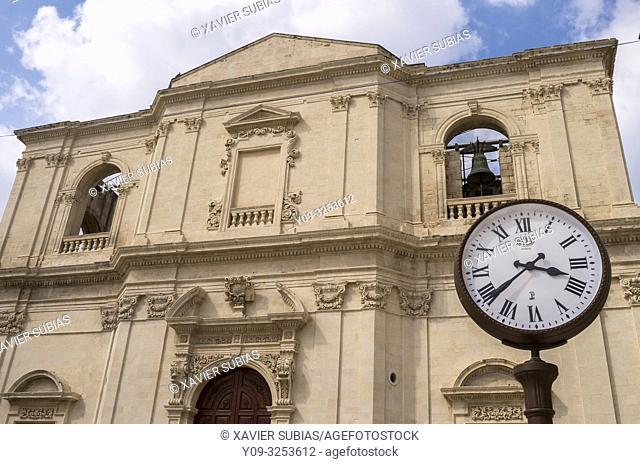 Church of the Santissimo Crocifisso, Noto, Siracusa, Sicily, Italy