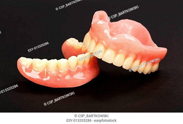 A set of dentures