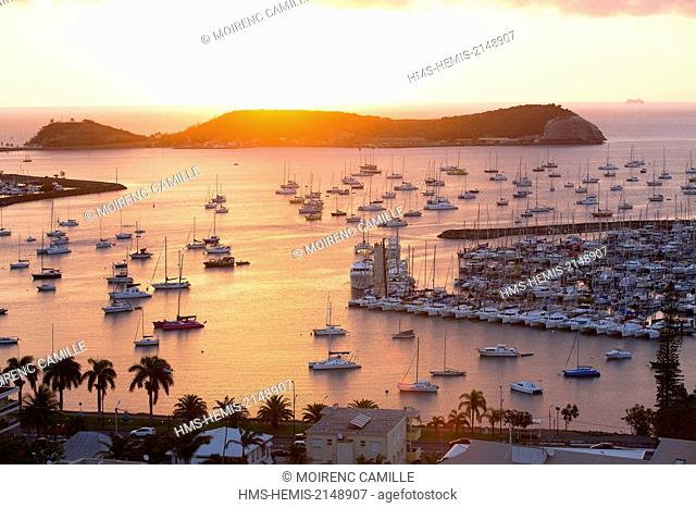 France, New Caledonia, Grande-Terre, Southern Province, Noumea, Bay Orphanage, South Port Marine
