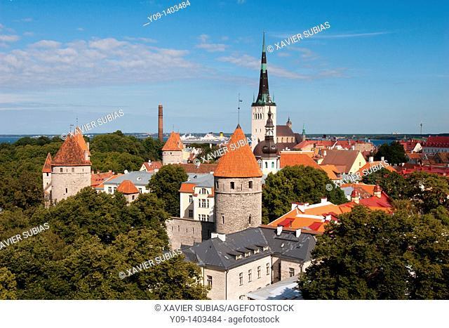 Toompea Castle, Tallinn, Harju, Estonia