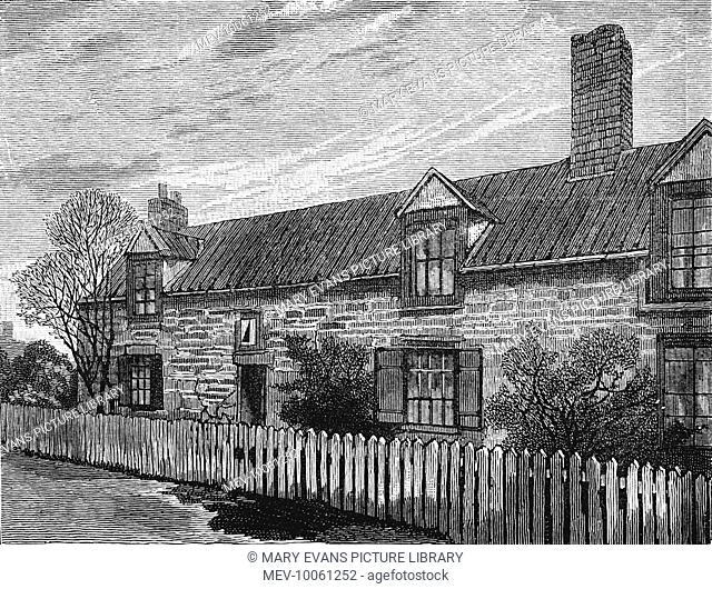 George Stephenson (1781 - 1848) Engineer's cottage at Killingworth