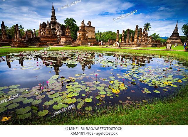 Wat Mahathat  Sukhothai Historical Park  Thailand