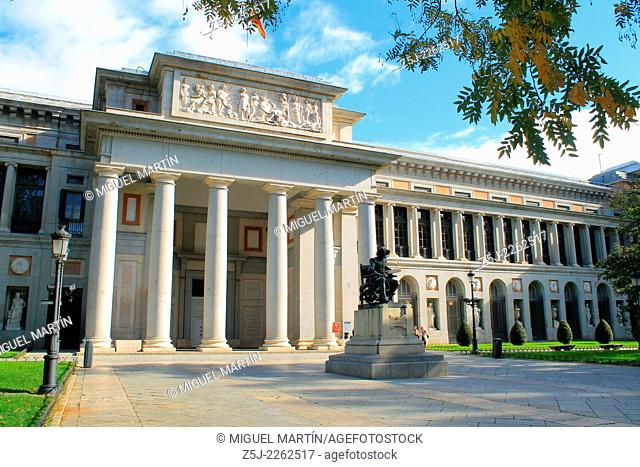 The Museo del Prado in Madrid, maybe the best collection of European art in the world from the 12th century to the early 19th century
