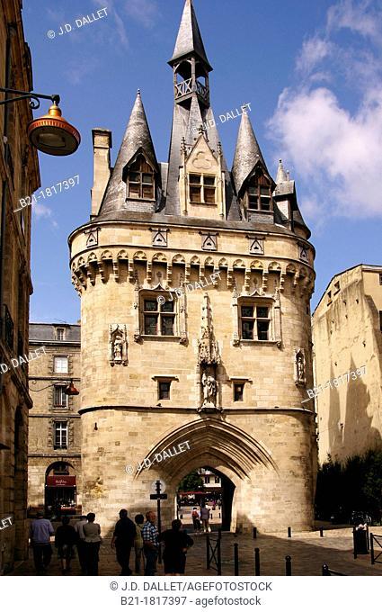 France, Aquitaine, Gironde,  'Porte de Cailhau', XVc , at Bordeaux