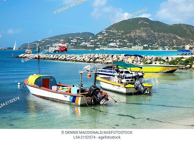 Downtown St Maarten Martin Caribbean Island Cruise Ship Norwegian Sun Leeward Islands