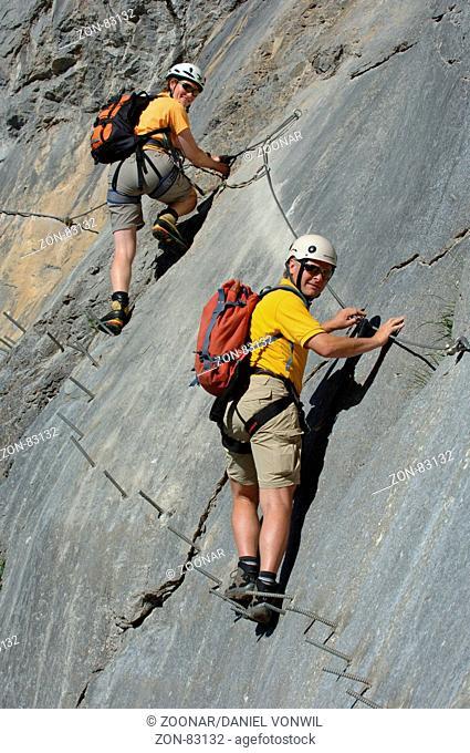 Klettersteig Allmenalp