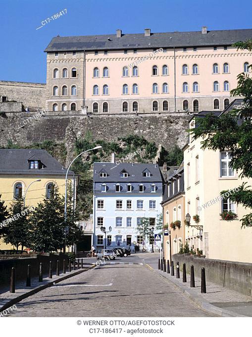 Grund. Luxembourg