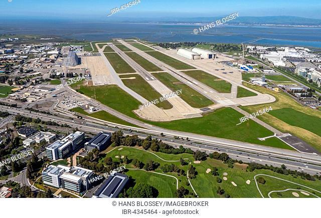 NASA Airfield Moffett Airfield, Silicon Valley, Santa Clara, California, USA