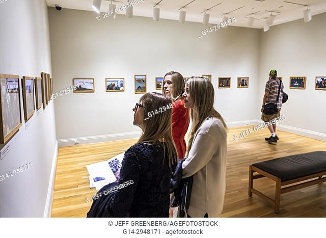 Washington DC, District of Columbia, Phillips Collection, art, museum, exhibit, viewing, Great Migration, Jacob Lawrence, African Americans history, woman
