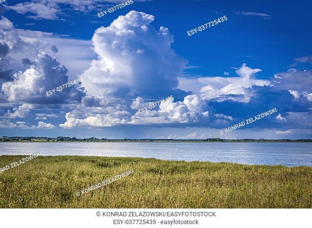 Luknajno Lake UNESCO Biosphere Reserve, part of Masurian Landscape Park in Warmian-Masurian Voivodeship of Poland