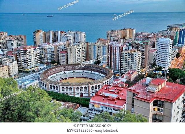 City of Malga, Spain
