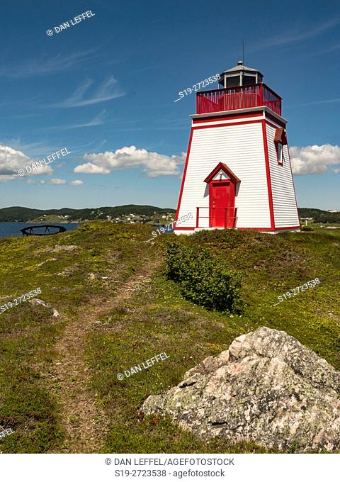 Canada, Newfoundland, Trinity, Lighthouse
