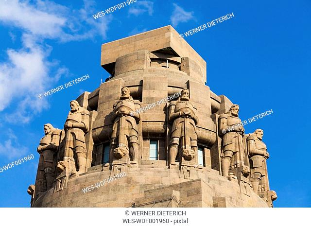 Germany, Saxony, Leipzig, Monument to the Battle of the Nations