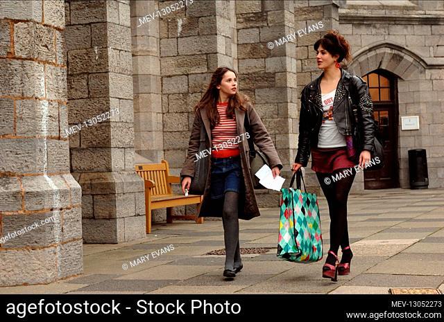 Felicity Jones & Jessica Brown Findlay Characters: Beth, Emelia Film: Albatros (2011) Director: Niall Maccormick 14 October 2011