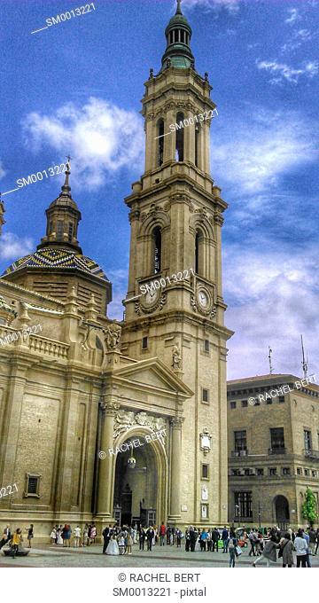 Basilica del Pilar, Saragossa, Aragon, Spain
