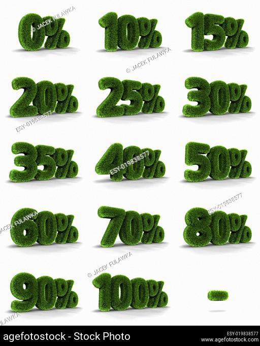 Grass Percent Tags