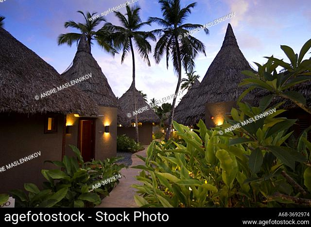 Constance Hotel Ephelia in Mahe, Seychelles. Part of Morne Seychellois National Park