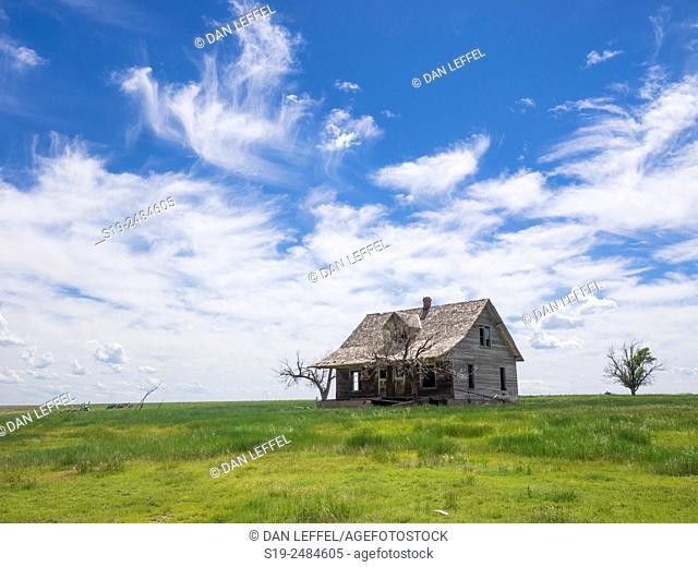 Prairie House, Nebraska, USA