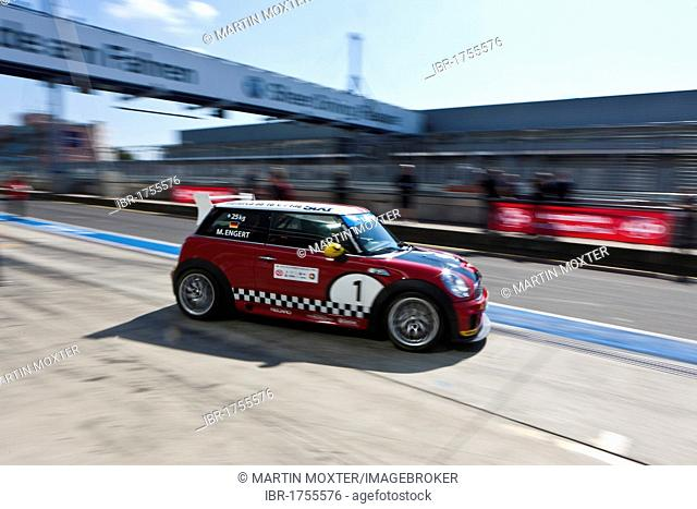 Race of the Mini Coopers, Mini Challenge at the Oldtimer Grand Prix 2010, a classic car race, Nuerburgring race track, Rhineland-Palatinate, Germany, Europe