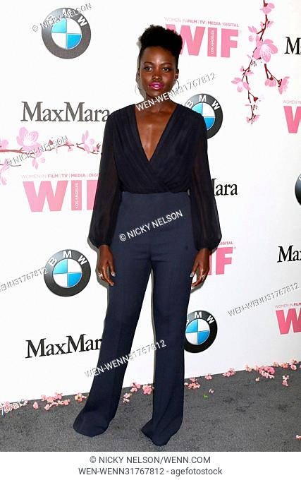 Women in Film celebrates the 2017 Crystal and Lucy Awards at the Beverly Hilton Hotel - Arrivals Featuring: Lupita Nyong'o Where: Beverly Hills, California