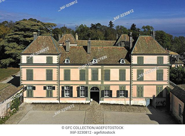 Castle of Coppet, canton of Vaud, Switzerland