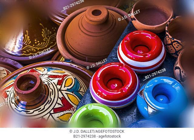 Morocco, Handicraft: ceramics