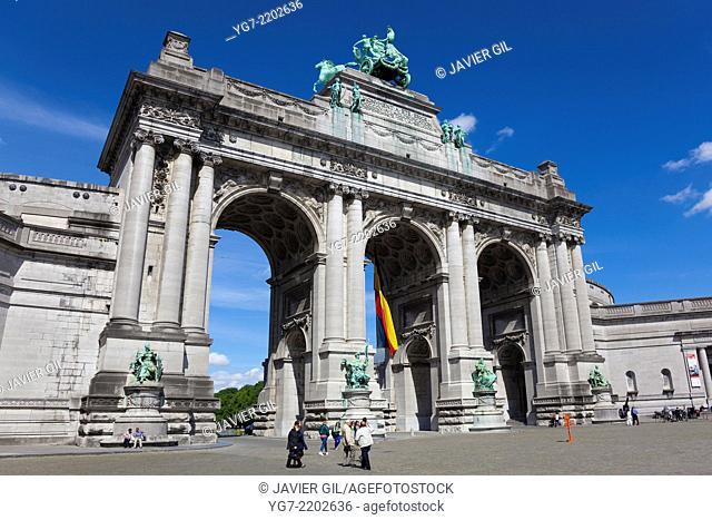 Arch of Cinquatenaire, Brussels, Belgium