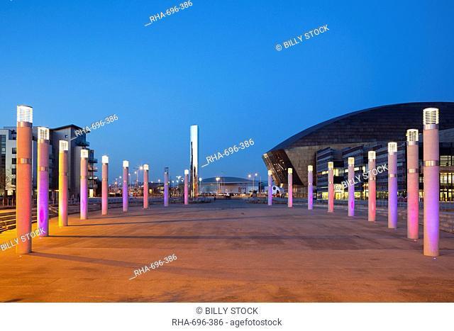 Millennium Centre, Cardiff Bay, South Wales, Wales, United Kingdom, Europe