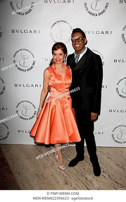 Youth America Grand Prix 2015 - Gala at the David H. Koch Theater Lincoln Center Featuring: Jean Shafiroff, B Michael Where: New York City, New York