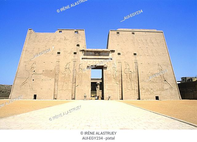 Egypte - Vallee du Nil - Edifou - temple d'Horus