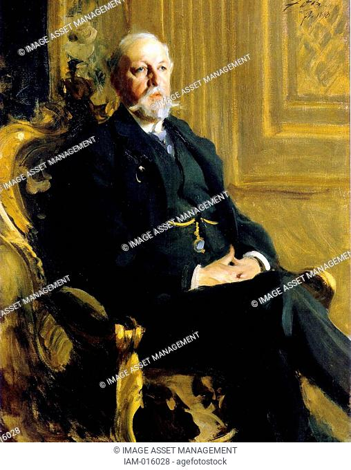 Oscar II 21 January 1829 – 8 December 1907, born Oscar Fredrik was King of Norway from 1872 until 1905 and King of Sweden from 1872 to 1907